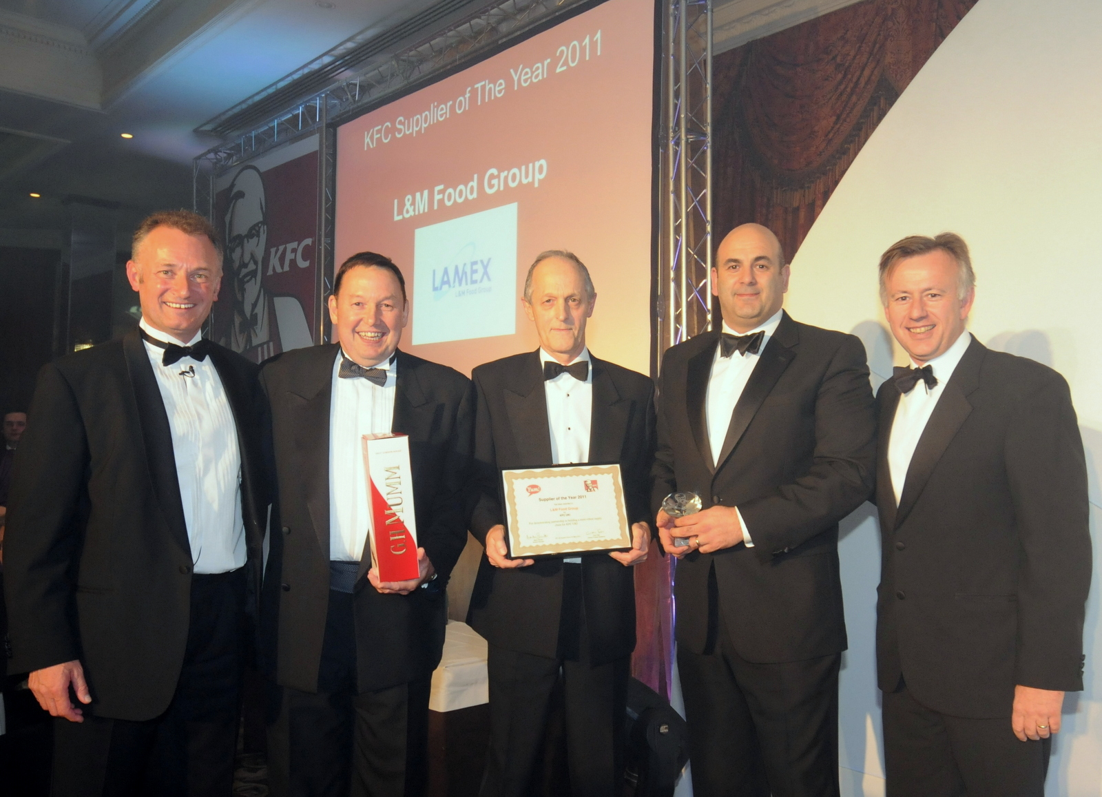 Supplier of the Year Award 2011